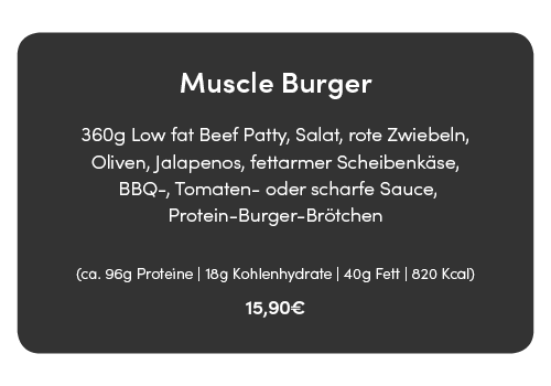 muscle burger