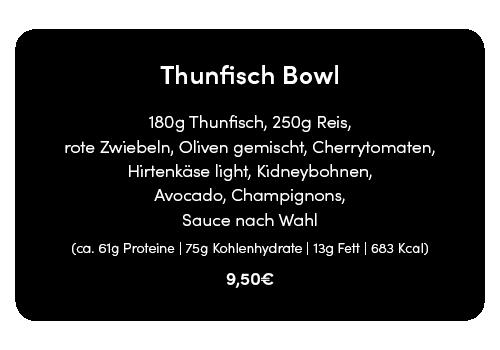 thunfisch bowl