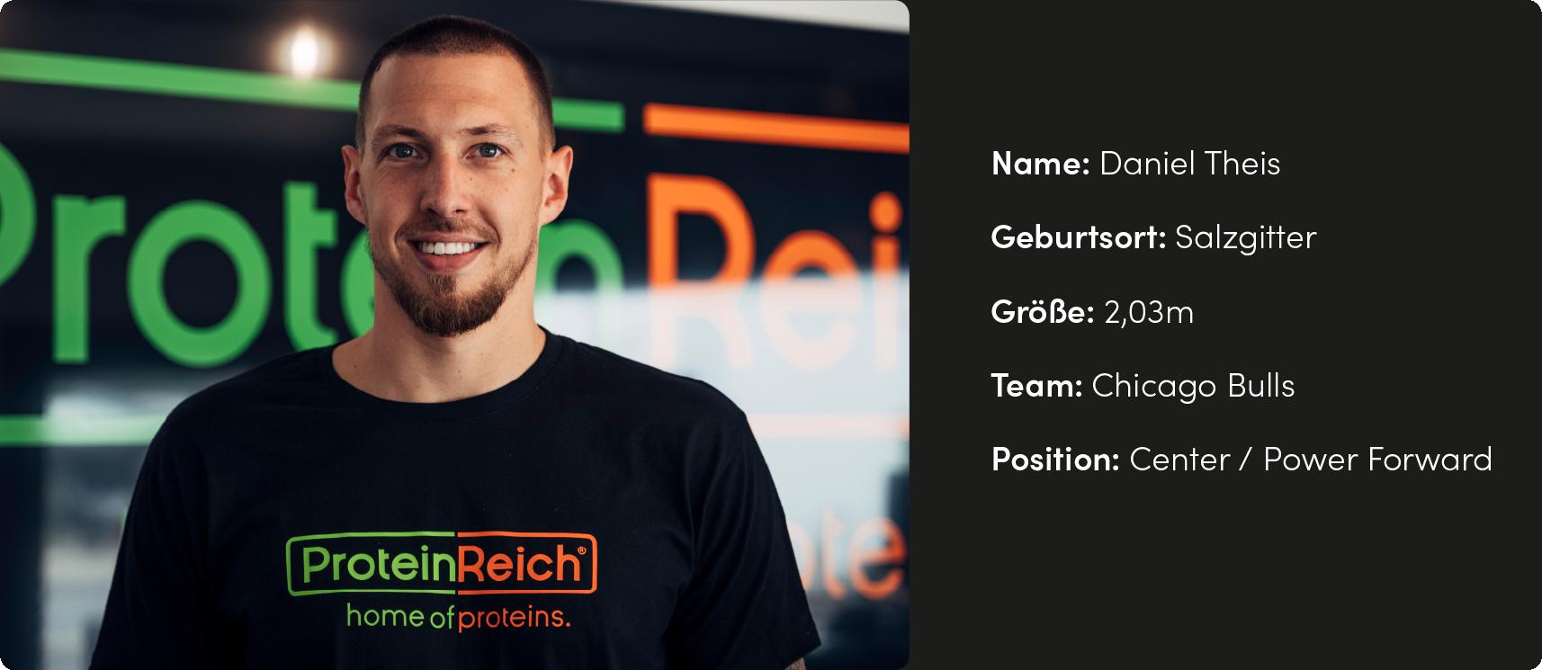 Daniel Theis aus Salzgitter in der ProteinReich-Family
